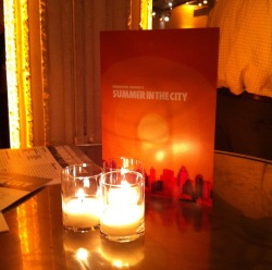 Saucy Smile covers City Harvest's Summer in the City