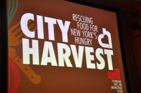 Saucy Smile covers City Harvest's Bid Against Hunger 2012 for Appetite for Good