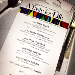 "Saucy Smile covers BTF ""A Taste For Life"" Tribute Dinner for Appetite for Good"